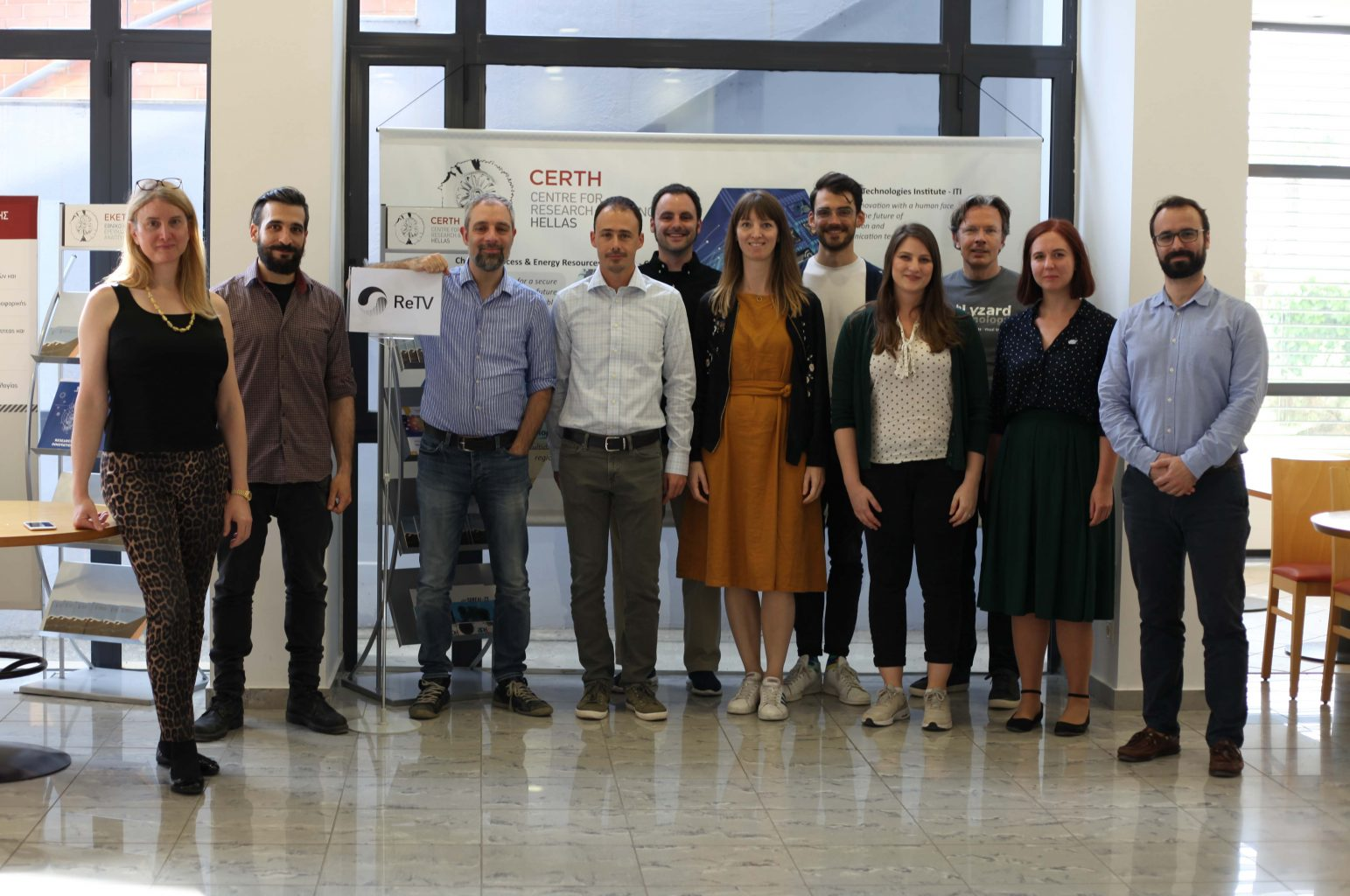 ReTV partners met in Thessaloniki to prepare first project outcomes