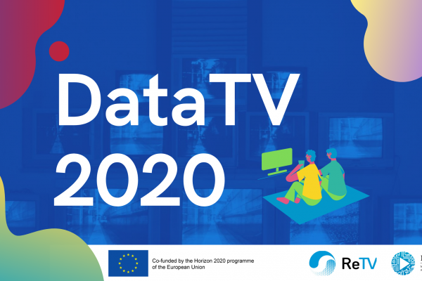 DataTV 2020 Webinar: Data-driven Personalisation of Television